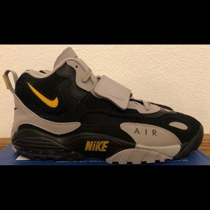 Nike Air Max Speed Turf Black Grey AV7895-001